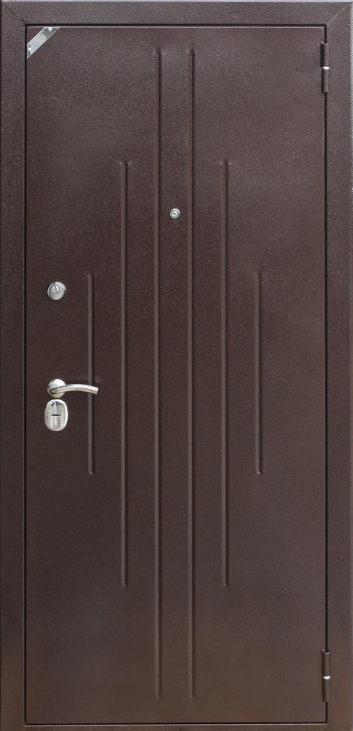 Двери железные Фабрика Зетта. Железные двери в Краснодаре.