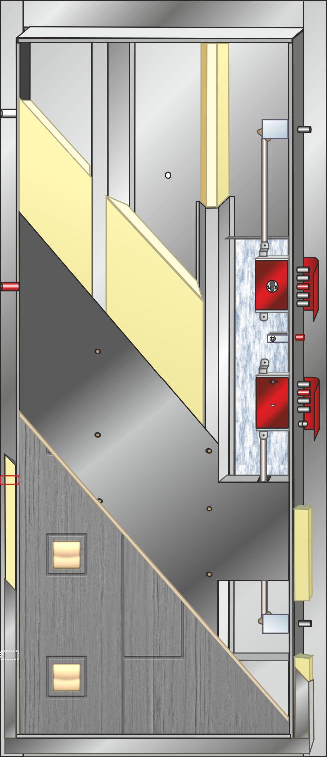 дверь металлическая входная взломостойкая