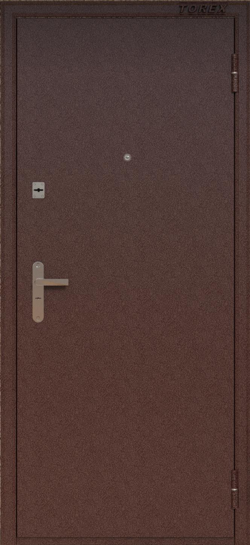 Двери из металла Фабрика Торэкс. Двери металлические в Краснодаре.