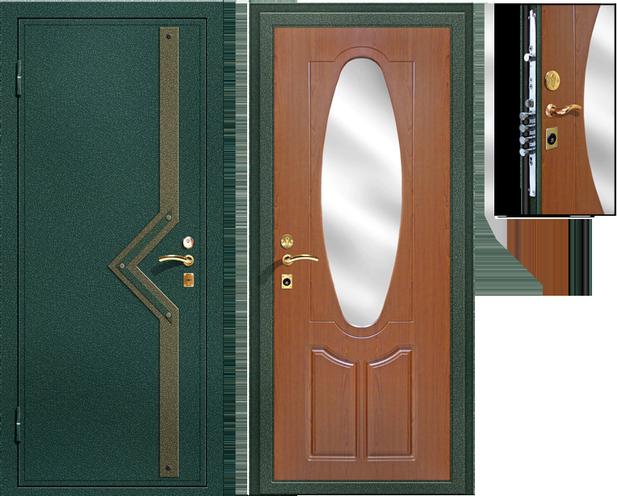 сколько ставить входную дверь