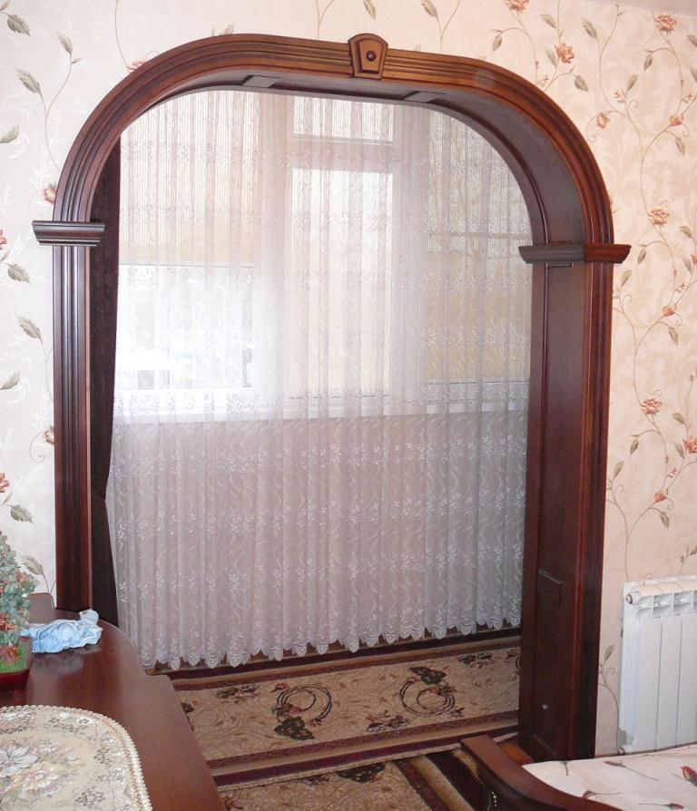 Эксклюзивные арочные двери в Краснодаре
