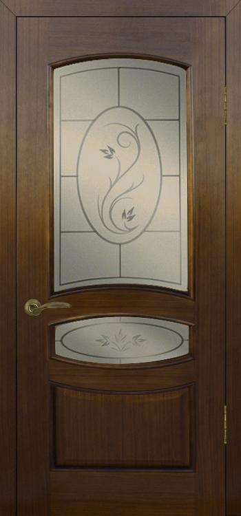 Межкомнатные двери Серия Алина стекло